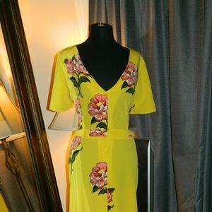 BEAUTIFUL Asos yellow dress